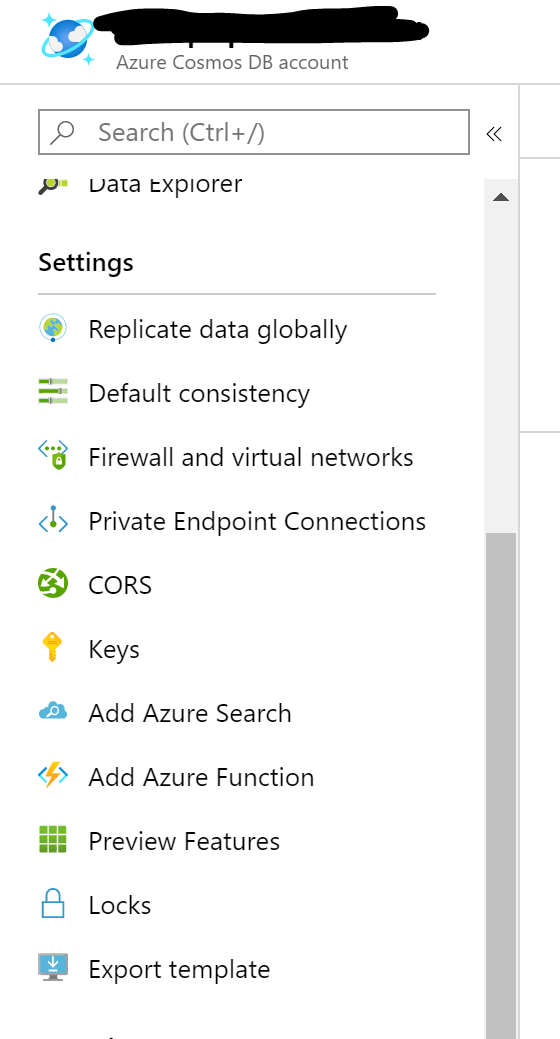 CosmosDB Azure Function 1