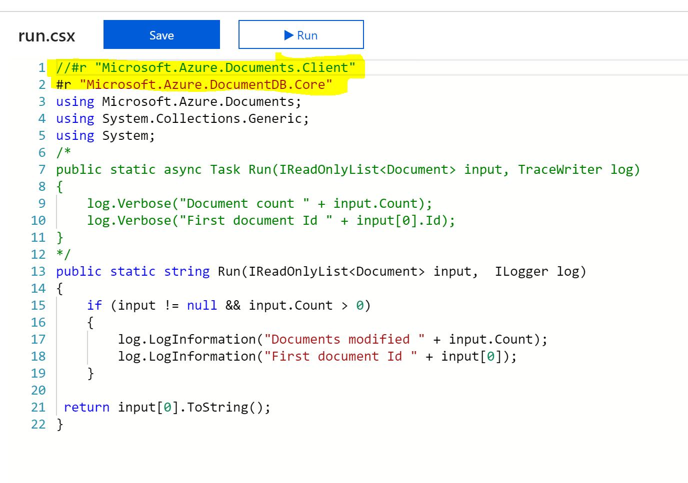 CosmosDB Azure Function 5
